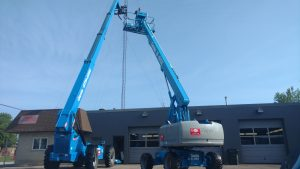 Genie S-60X Telescopic Boom Lift For Rent