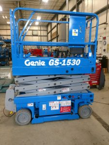 Genie GS-1530 Electric Scissor Lift For Rent