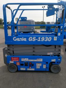 Genie GS-1930 Electric Scissor Lift For Rent