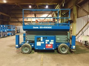 Genie GS-4069 DC Electric Scissor Lift For Rent